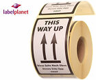 This Way Up Package Packaging Postage Mail Self-Adhesive Labels Label Planet®