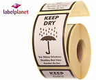 Keep Dry Package Packaging Postage Product Self-Adhesive Labels Label Planet®