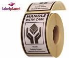 Handle With Care Package Packaging Postage Self-Adhesive Labels Label Planet®