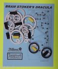 ★ 1993 Williams Dracula pinball rubber ring kit