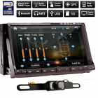 HTC HD 2 Din 7Touchscreen Car DVD Player GPS Bluetooth Radio Ipod TV PIP+Camera