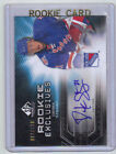 10-11 SP Game Used Derek Stepan Rookie Exclusives Auto Card RC #RE-DS Mint 100