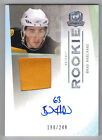 09-10 The Cup Brad Marchand Auto Jersey Patch Rookie Card RC #115 198 249 Mint