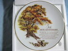 AVON 5th ANNIVERSARY PLATE The Great Oak in Box