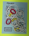★ 1986 Williams Pinbot pinball rubber ring kit