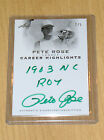 LEAF Legacy Pete Rose GREEN autograph career highlights 2 5 REDS CHA-1 1963 ROY