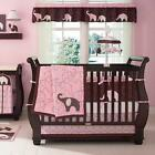Pink Elephant 4 Piece Baby Crib Bedding Set by Carters