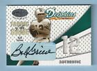 BOB GRIESE 2004 LEAF CERTIFIED FABRIC OF THE GAME JERSEY AUTOGRAPH AUTO 12