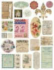 Melissa Frances GN378 Airmail Stickers 1 Sheet NEW