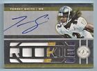 TORREY SMITH 2011 TOTALLY CERTIFIED RC 4 COLOR PATCH AUTOGRAPH AUTO 25 RAVENS