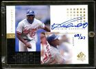 VLADIMIR GUERRERO 2000 SP AUTO 27 CHIROGRAPHY GOLD BEAUTIFUL RARE VLAD ONCARD
