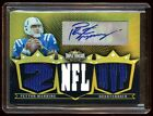 PEYTON MANNING GOLD AUTO #9 9 7X PATCHES LOGO BEAUTIFUL MINT COLTS BRONCOS