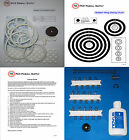 1969 Gottlieb Bumper Pool Pinball Machine Tune-up Kit - Includes Rubber Ring Kit