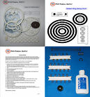 1969 Gottlieb Target Pool Pinball Machine Tune-up Kit - Includes Rubber Ring Kit