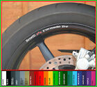 8 x Benelli Tornado Tre Wheel Rim Decals Stickers - 900 1130 rs le s