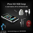 Apple iPhone 3GS 16 Go Noir Orange Smartphone Free ...