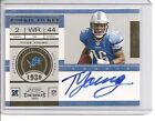 TITUS YOUNG rc ROOKIE 2011 11 AUTO au SIGNED Playoff Contenders Lions Card