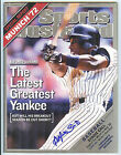 New York Yankees ALFONSO SORIANO Signed Sports Illustrated SI
