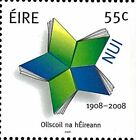 Ireland Stamp, 2008 Nat University of Ireland Stamp,Art