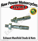 Hyosung GA 125 Cruise II Classic 1999-2001 Exhaust Studs with Nuts (Pair)