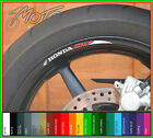 8 x HONDA CRF WHEEL RIM STICKERS DECALS - 150 250 450 230f 450r 250rc 250r 150r