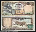 NEPAL 500 RUPEES P66 2009 MOUNTAIN TIGER UNC NEPALESE BILL SAARC MONEY NOTE