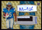 MIKEL LESHOURE 2011 TOPPS FINEST SUPERFRACTOR PARALLEL JUMBO PATCH AUTO RC # 1 1
