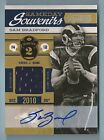SAM BRADFORD 2011 TIMELESS TREASURES GAMEDAY SOUVENIRS JERSEY AUTOGRAPH 5
