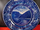 Rowland and Marsellus Souvenir Plate Staffordshire Delaware Gap
