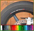 8 x SUZUKI RF900R Wheel Rim Stickers Decals - rf 900 r