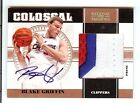 2010-11 PLAYOFF NATIONAL TREASURES BLAKE GRIFFIN AUTO COLOSSAL 3 COLOR PATCH 10