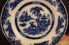 Petrus Regout & Co Maastricht plate, HONG, made in Holland. 9