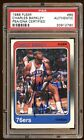 CHARLES BARKLEY AUTO AUTOGRAPH 1988 FLEER PSA DNA #85 BEAUTIFUL SIGNATURE RARE