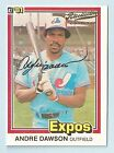 ANDRE DAWSON 2005 DONRUSS RECOLLECTION COLLECTION BUYBACK AUTOGRAPH AUTO # 7 7