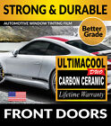 UCD PRECUT FRONT DOORS WINDOW TINTING TINT FILM FOR GEO TRACKER 4DR 96 97