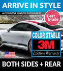 PRECUT WINDOW TINT W 3M COLOR STABLE FOR GEO METRO 4DR 95 97