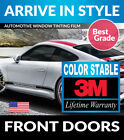 PRECUT FRONT DOORS TINT W 3M COLOR STABLE FOR GEO TRACKER 4DR 96 97