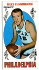 BILLY CUNNINGHAM 1969 70 TOPPS ROOKIE RC CARD #40!