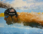 MICHAEL PHELPS AUTOGRAPHED SIGNED 2008 BEIJING OLYMPICS 16X20 PHOTO w PSA DNA