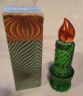 AVON VTG 1970s Christmas Candle Sweet Honesty Cologne 1 oz. Bottle Full with Box