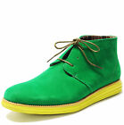 New mens shoes casual fashion lace up style oxfords synthetic suede green