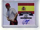 SERGIO GARCIA AUTOGRAPH # 50 ON CARD AUTO NATIONAL PRIDE 2012 LEAF METAL GOLF