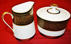 Mikasa MOUNT HOLYOKE Creamer and Sugar Bowl with Lid GREAT CONDITION
