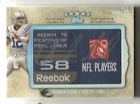 2012 TOPPS FIVE STAR ANDREW LUCK JUSTIN BLACKMON LAUNDRY TAG AUTO BOOK #05 10