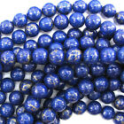 10mm dark blue gold pyrite turquoise round beads 16