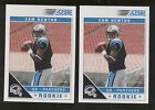 2011 Score #315B Cam Newton SP (red stands in background) RC Lot of 2 B57133