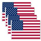 4 Pack 3x5 American Flags w Grommets USA United States of America US Stars