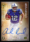 1 1 ANDREW LUCK 2012 TOPPS VALOR SPEED AUTOGRAPH AUTO RC JERSEY # 12 70 *COLTS*