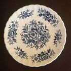 Beacon Hill British Anchor Ironstone Blue White Floral , 5 1/2