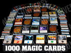 1000 Magic the Gathering Cards Lot With 100 Lands MTG Includes Foils